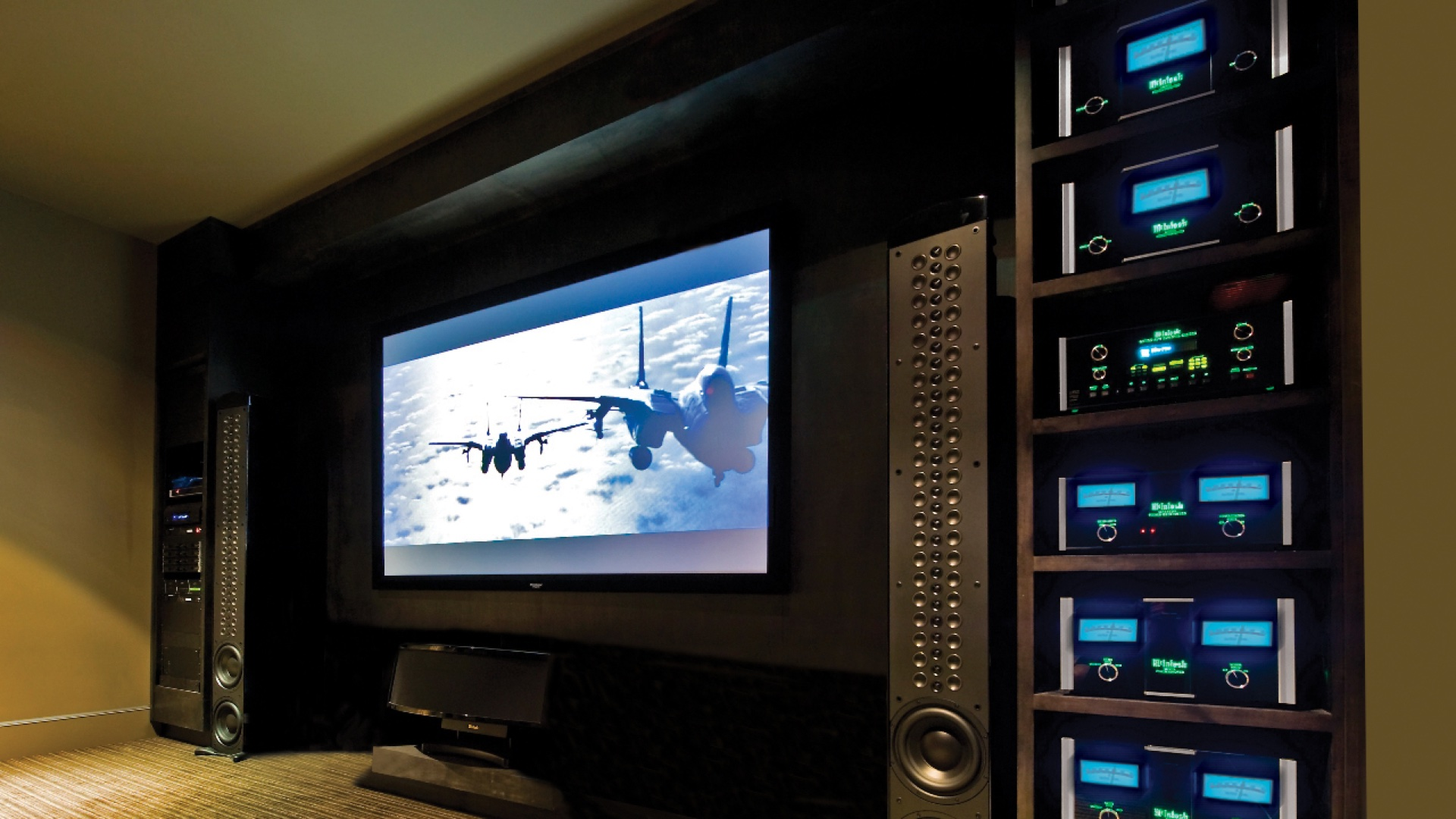 Home Qubec Acoustique Canada Wiring A Theater Projection Tv Installation Services